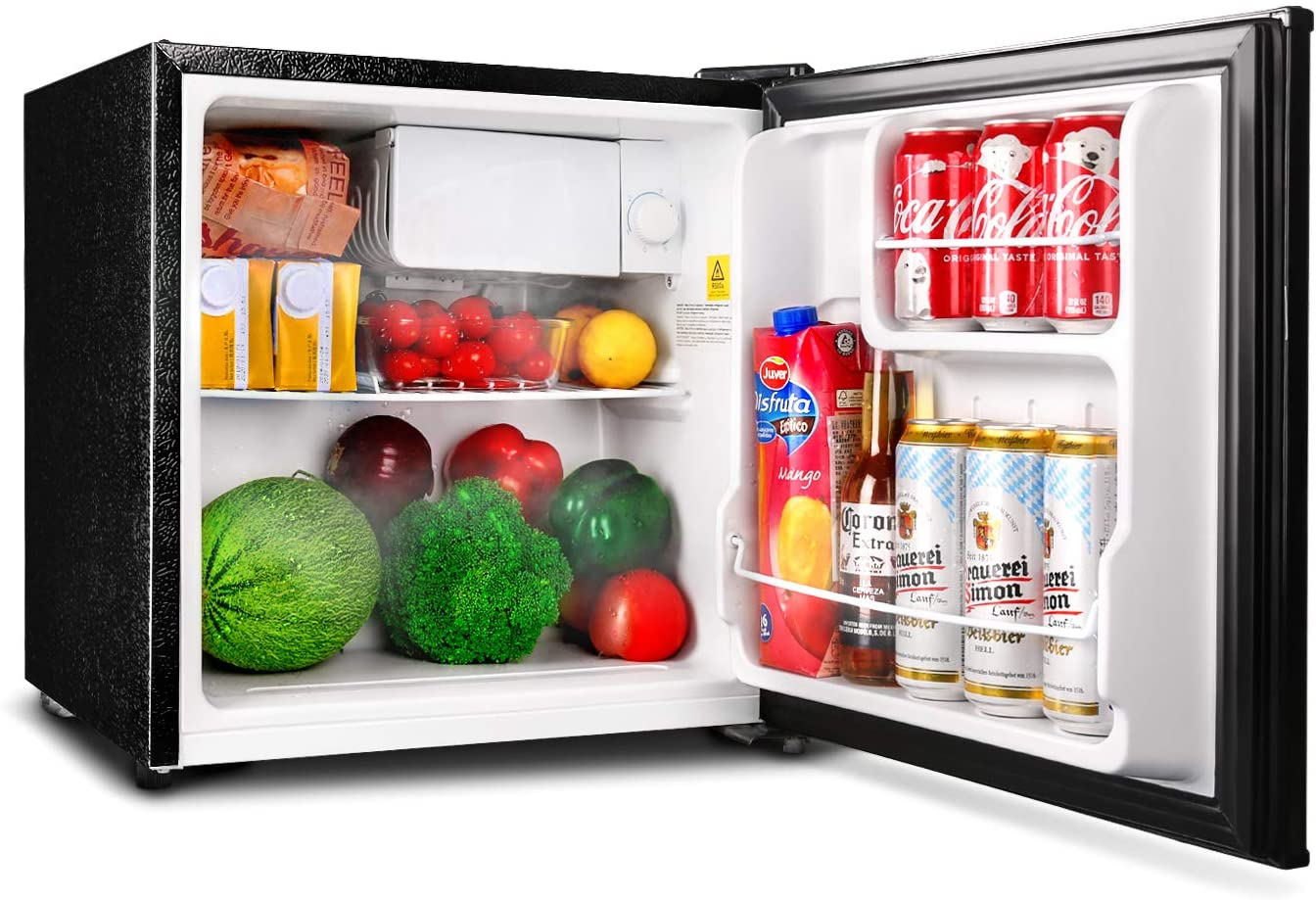 TACKLIFE Reversible Door Mini Fridge