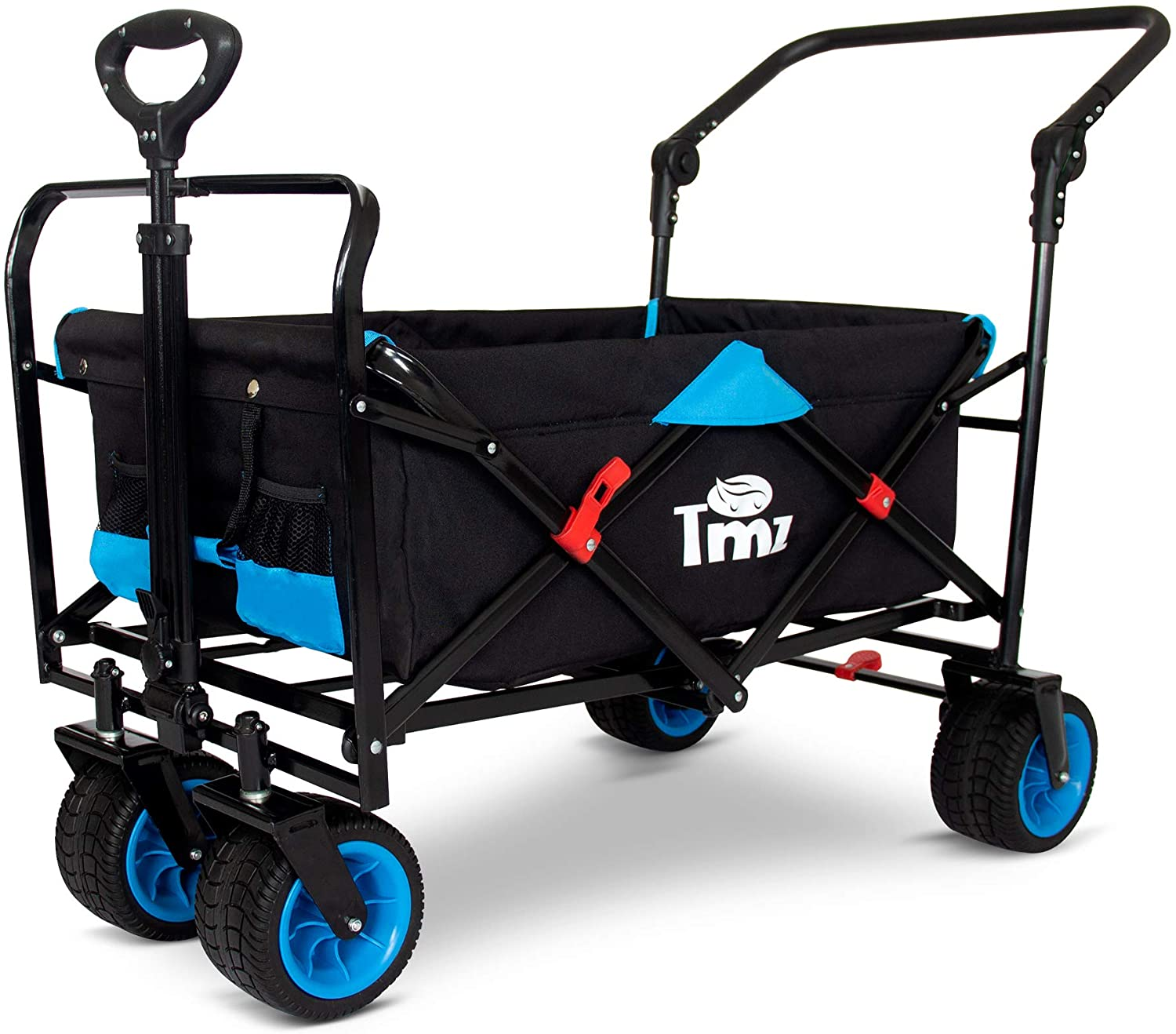 TMZ Wide Wheel Heavy Duty Beach Wagon