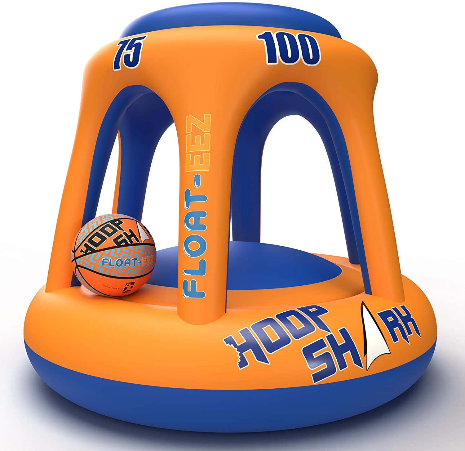 Hoop Shark Swimming Pool Basketball Hoop Set