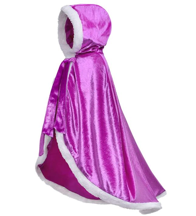 Party Chili Hooded Cape Girls' Dress Up Clothes
