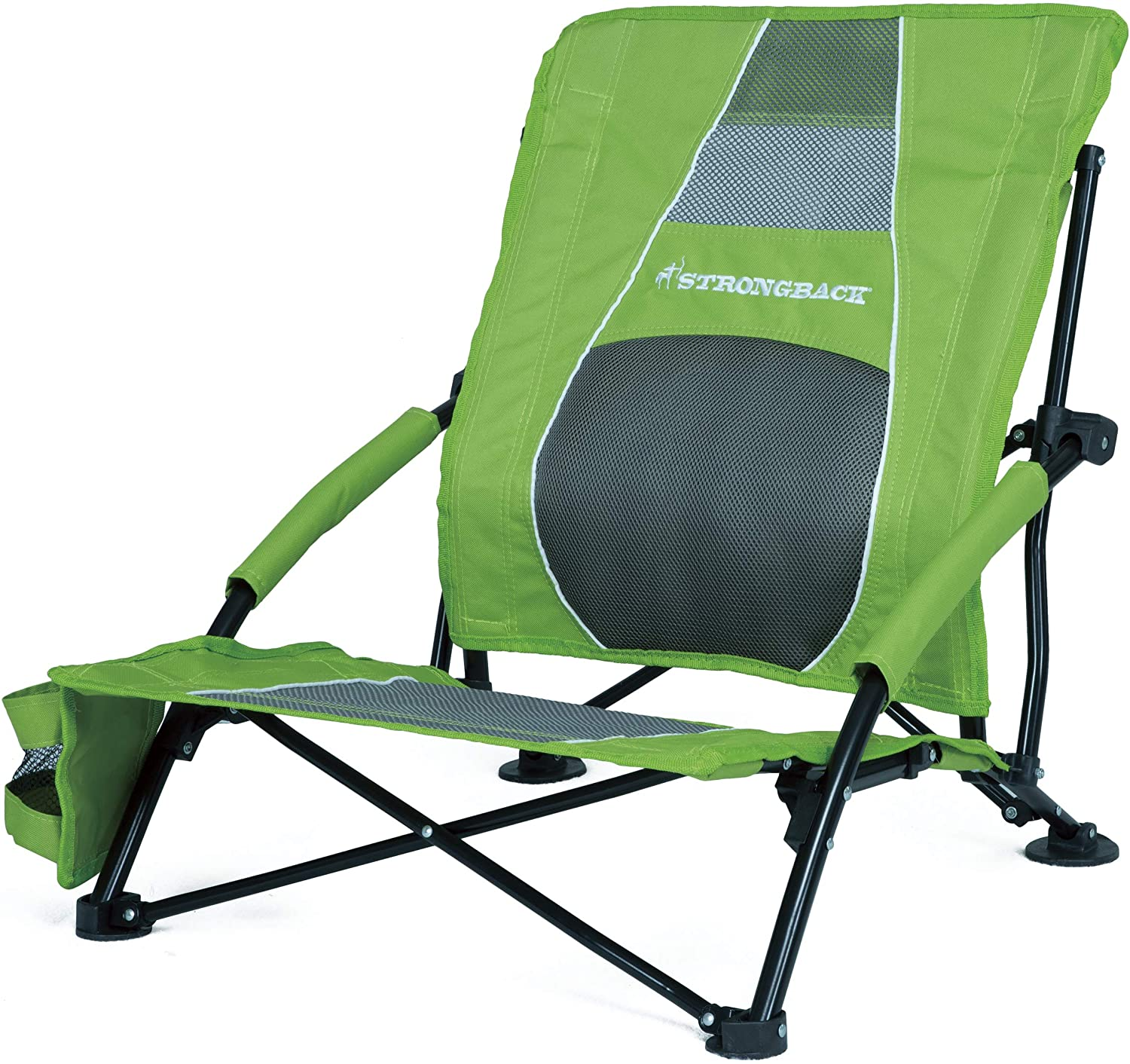 STRONGBACK Low Gravity Foldable Beach Chair
