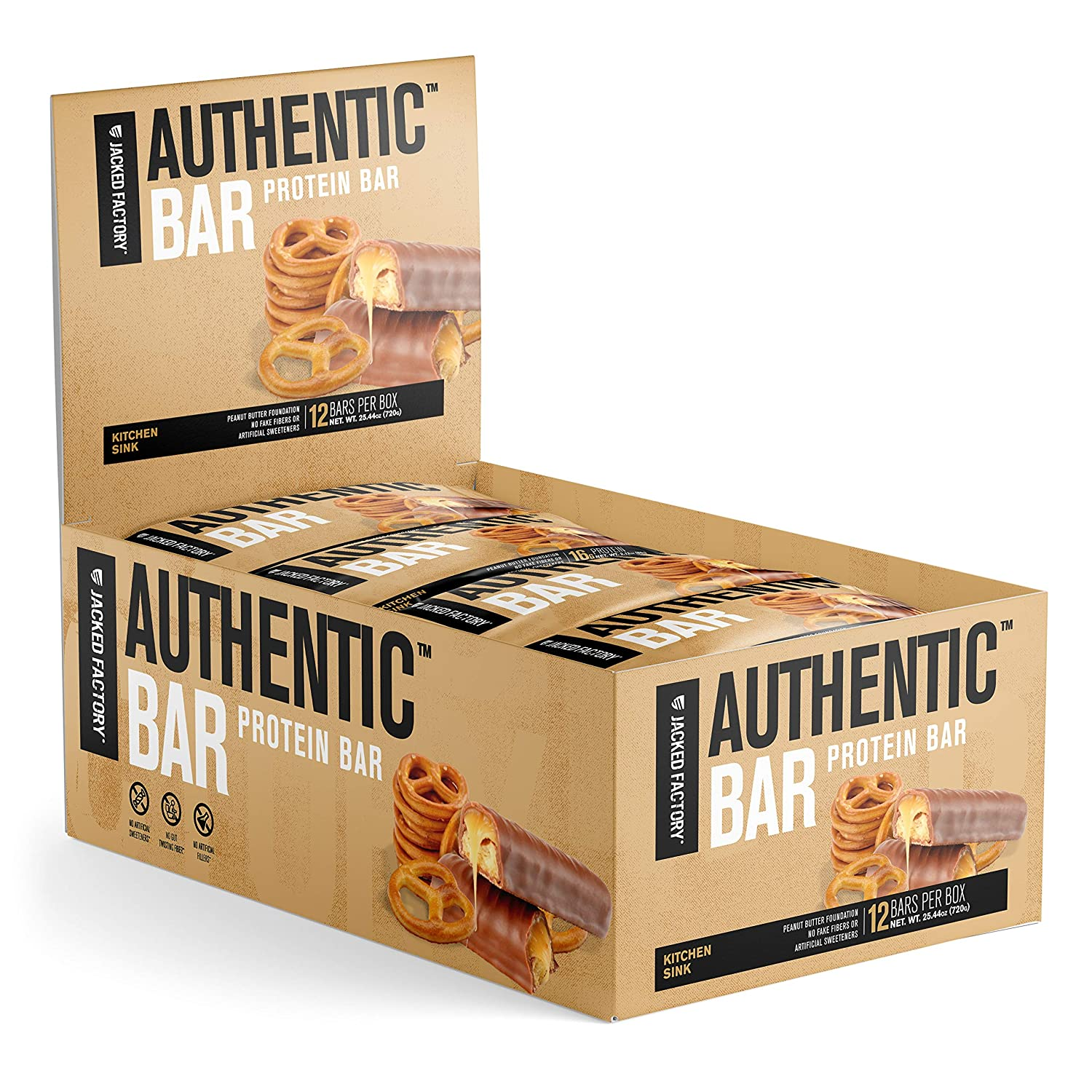 Jacked Factory Authentic Bar Meal Replacement Bar