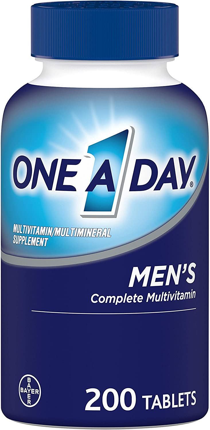 One A Day Men's Multivitamins, 200-Count
