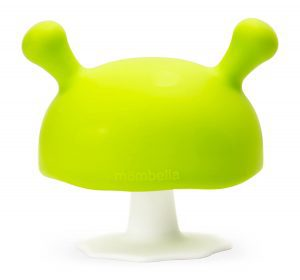 Mombella Mimi The Mushroom Silicone Baby Teether & Pacifier