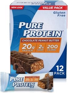 Pure Protein Low-Sugar Protein Bar, 12-Count