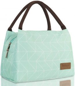 Buringer Double-Zippered Leak Resistant Lunch Boxes For Teen Girls