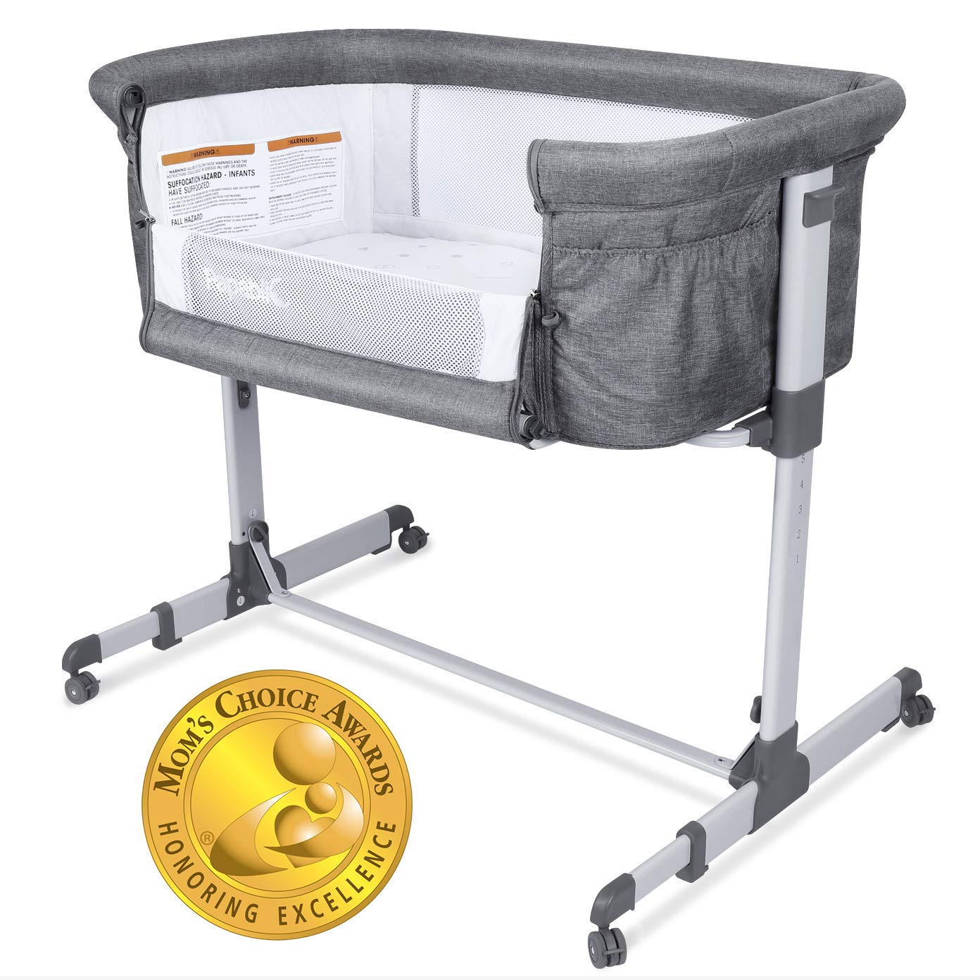 Papablic Portable 2-In-1 Bassinet For Baby