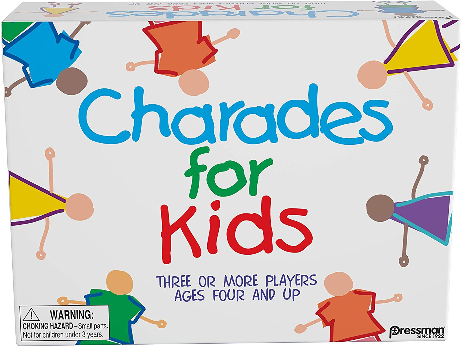 Pressman Charades For Kids, Family Board Game