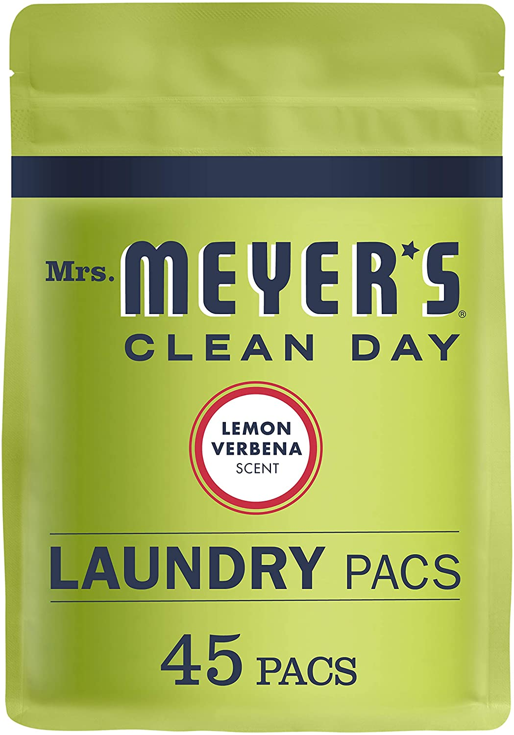 Mrs. Meyer's Clean Day Plant-Derived Laundry Detergent Pods, 45-Count