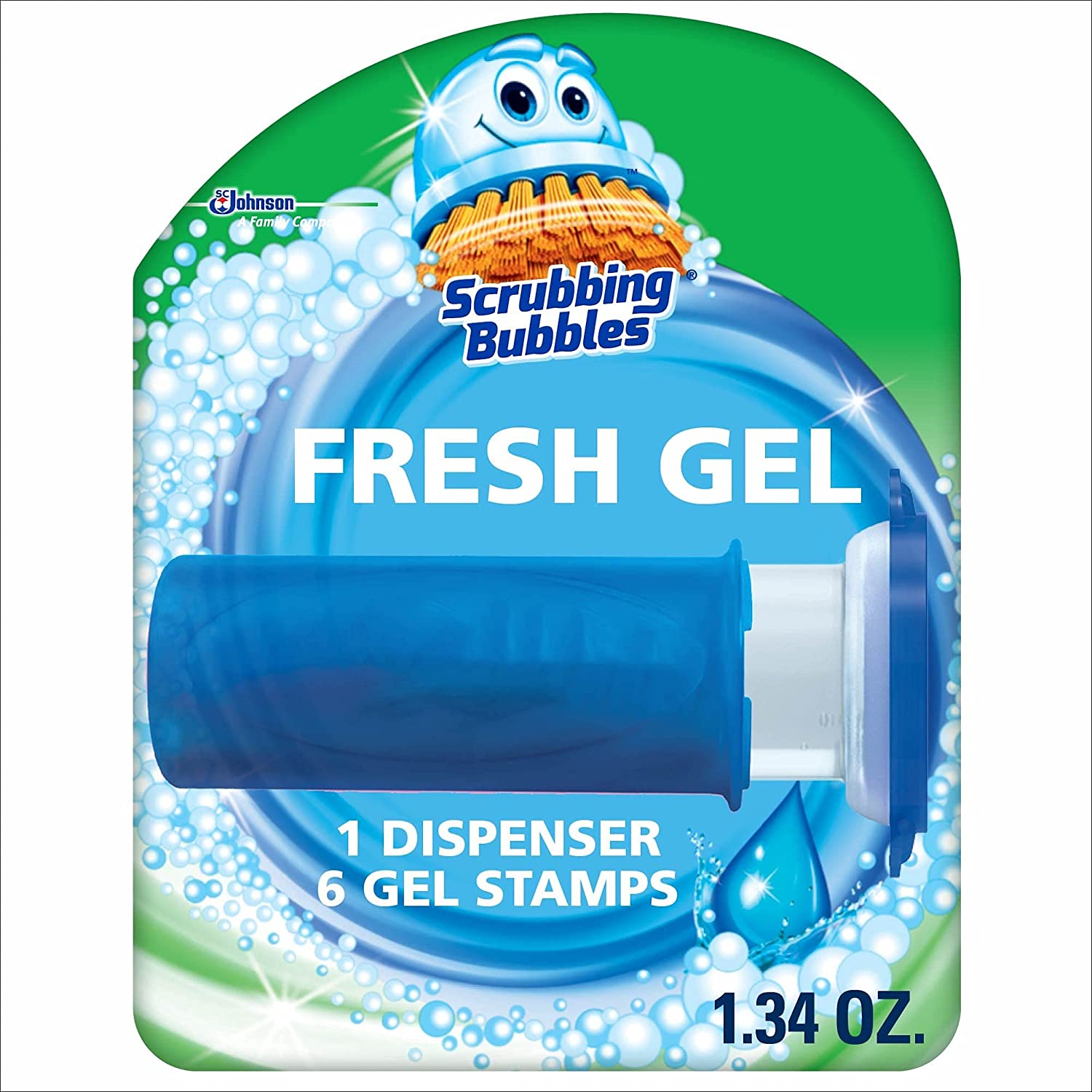 Scrubbing Bubbles Scented No-Touch Toilet Bowl Cleaner