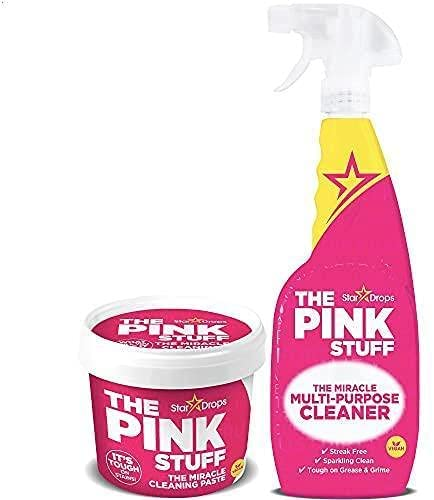 Stardrops The Pink Stuff 2-Pack Multi-Purpose Spray & Miracle Cleaning Paste