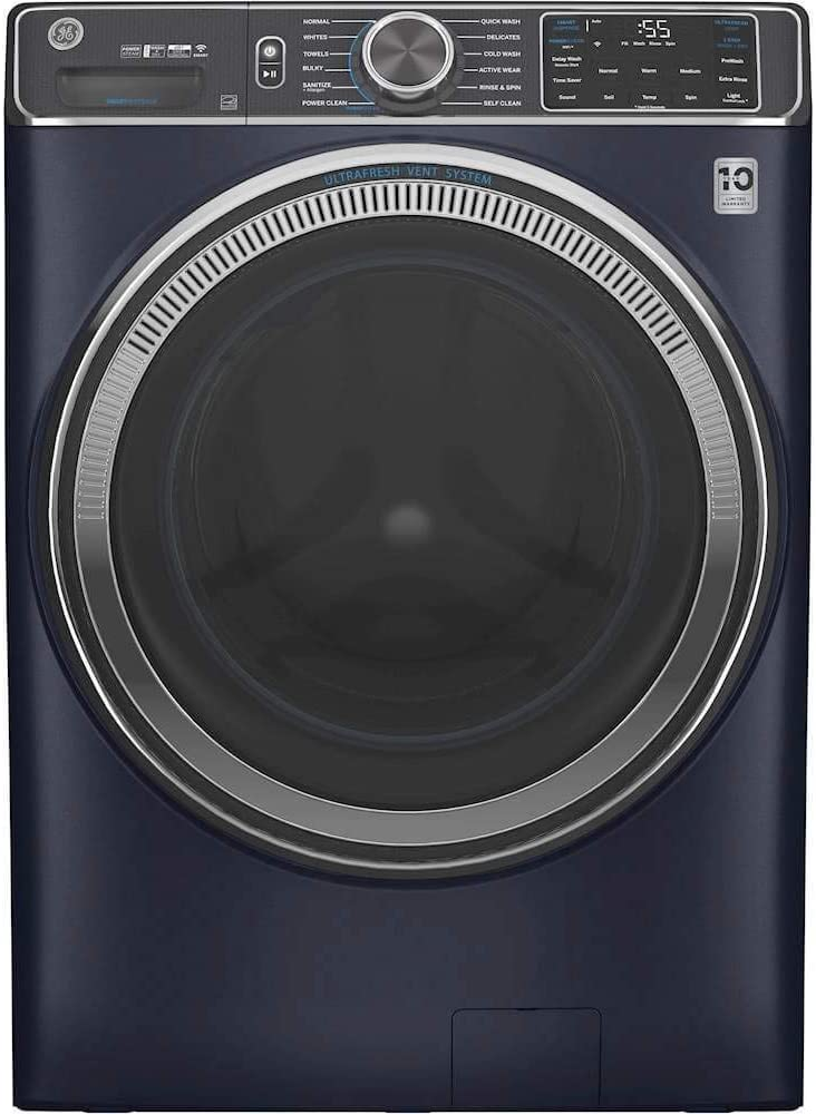 GE Stackable Stainless Steel Front Load Washing Machine