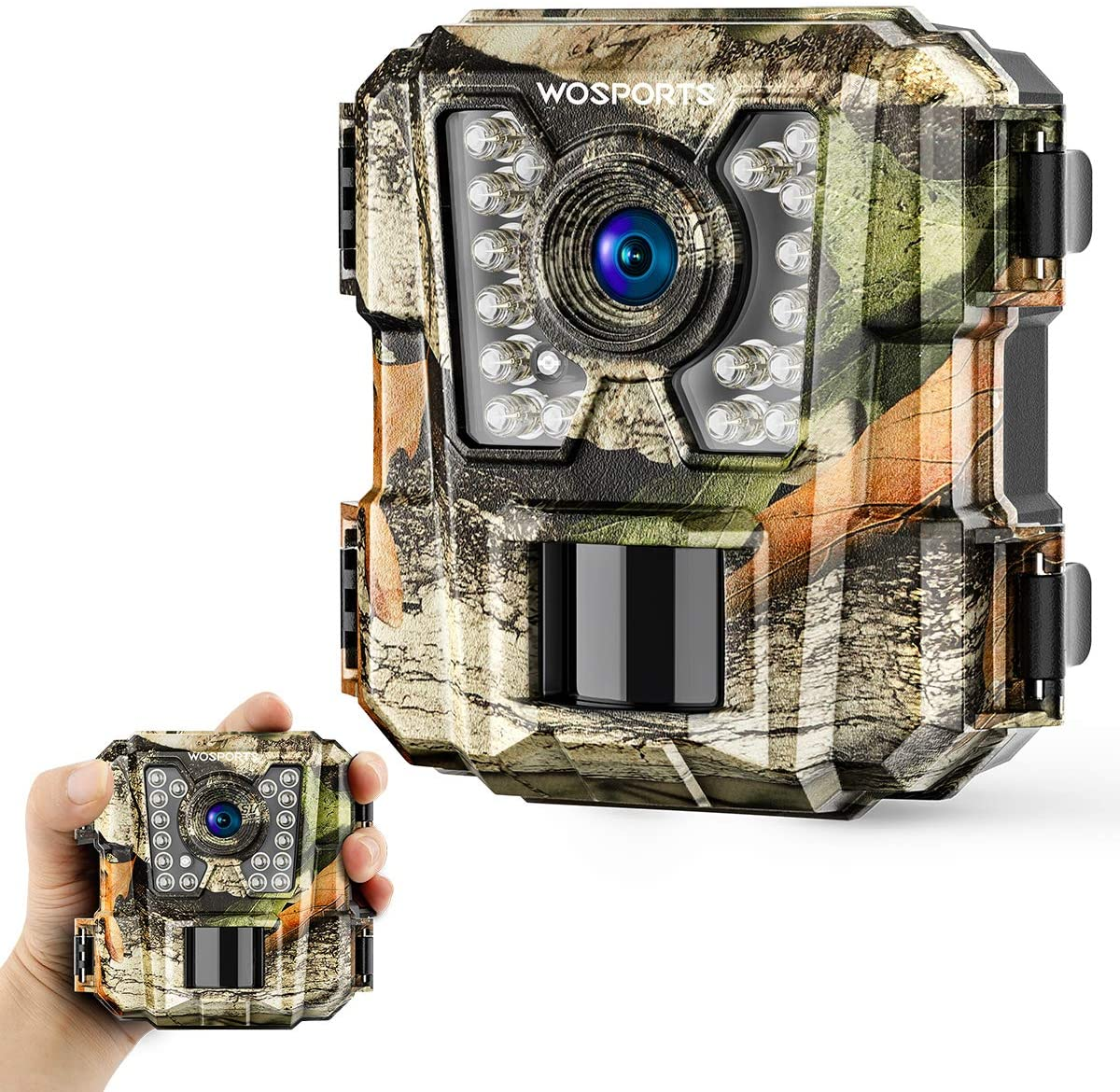Wosports High Resolution Outdoor Trail Camera